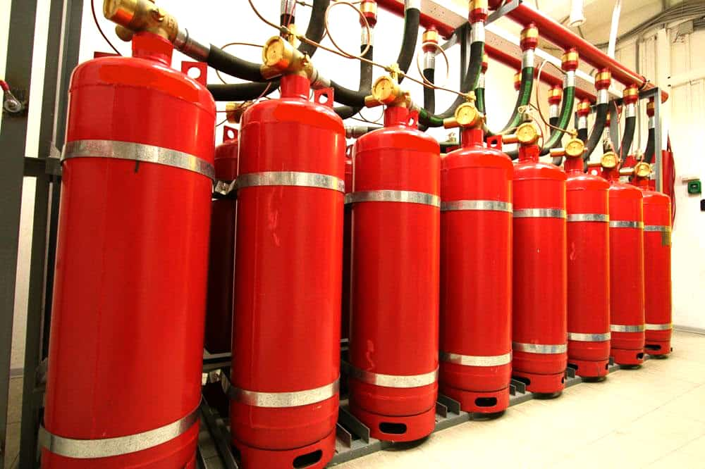 Системы тушения пожара