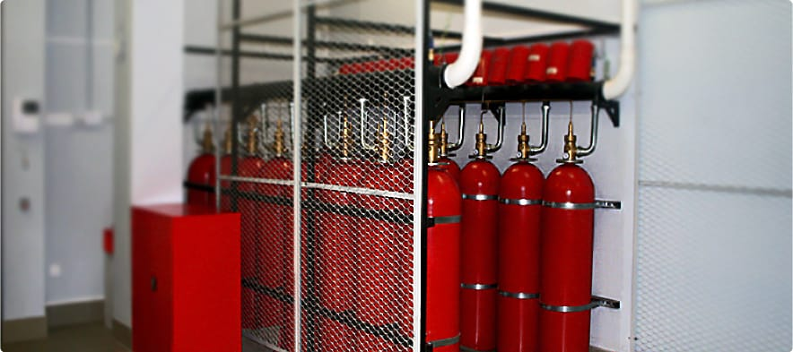 Газовое пожаротушение Одесса