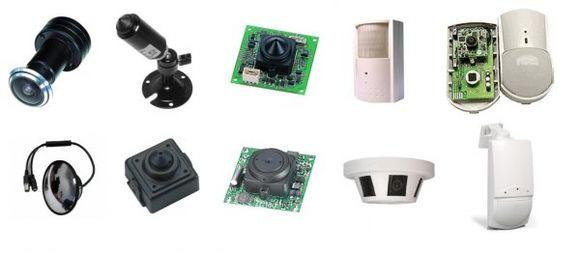 Камеры скрытого наблюдения